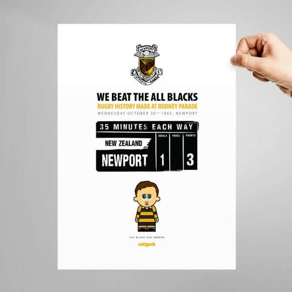 Black & Ambers Print