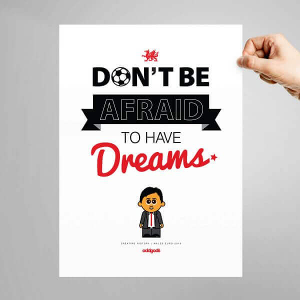 Dreams 'Quote' Print