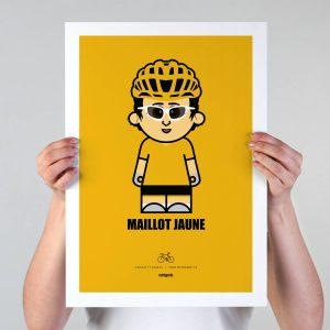 Maillot Jaune Print