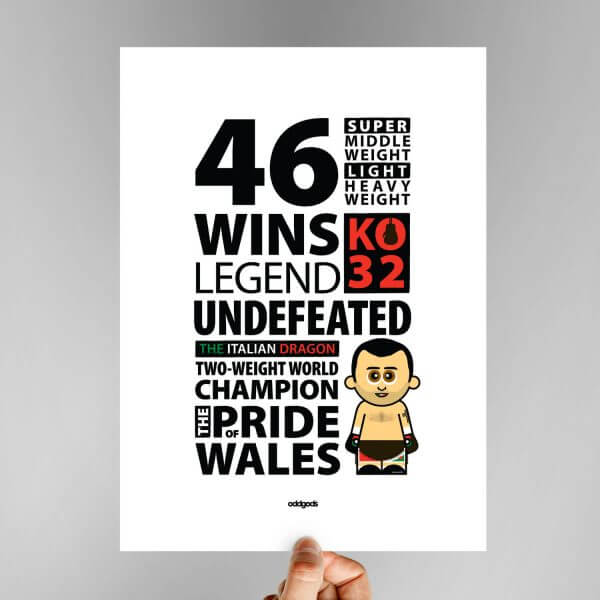The Pride of Wales Print