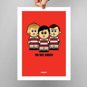 Viet Gwent Print