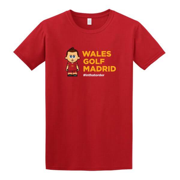 Wales. Golf. Madrid. Tee