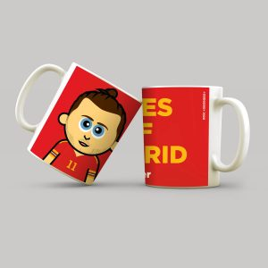 Wales. Golf. Madrid. Mug